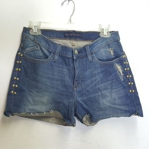 *ROCK & REPUBLIC  CUTOFF BUMPERSHOOT shorts Sz 6
